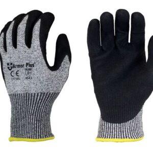 Armor plus cut resistant gloves