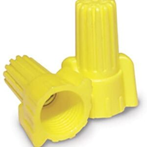 ACT YELLOW DOUBLE WINGED WIRE CONNECTORS