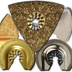 CARBIDE & DIAMOND RASP TILE & GROUT BLADES