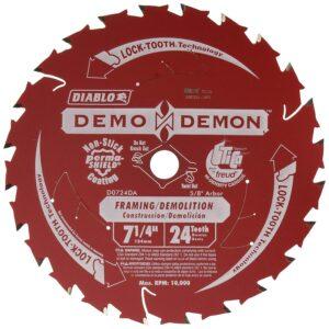 "FREUD DEMO DEMON 7-1/4"" CARBIDE TIPPED SAW BLADE"