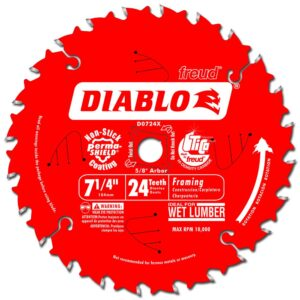 "FREUD DIABLO 7-1/4"" CARBIDE TIPPED SAW BLADE"