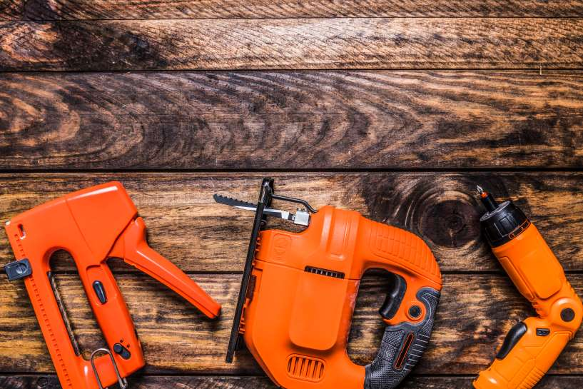 What's the best way to clean power tools