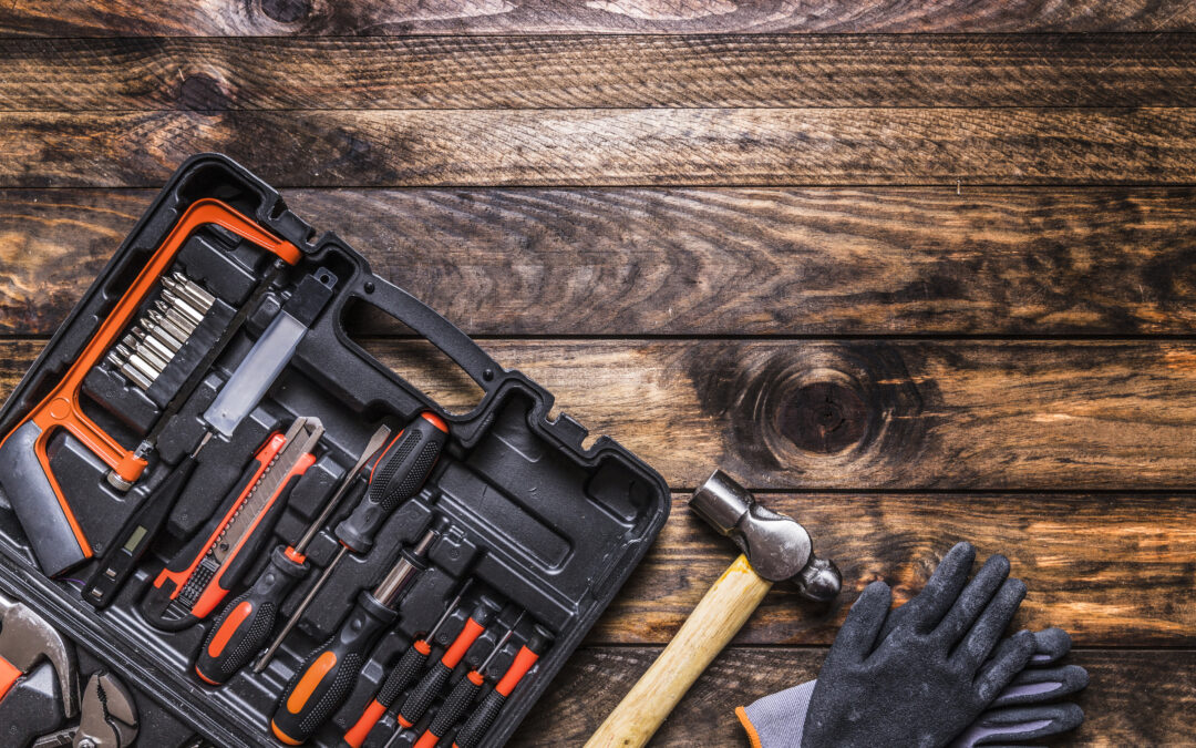 What's the best way to store power tools