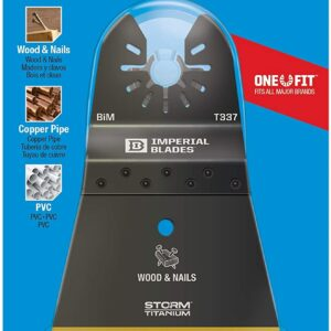 ONE FIT™ STORM TITANIUM WOOD & NAILS BLADE EXTRA WIDE